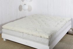Queen Wool Mattress in 2 side-by-side pieces 3