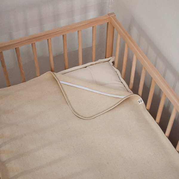 Wool Crib Mattress Pad 2