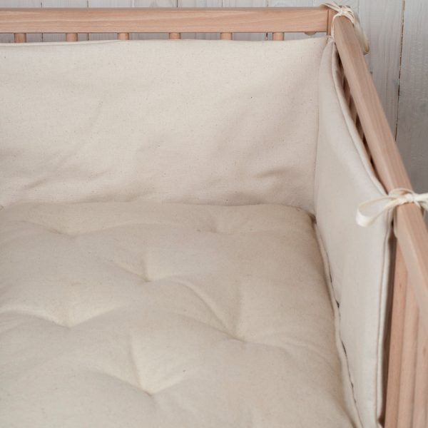 Wool Filled Baby Crib Bumper