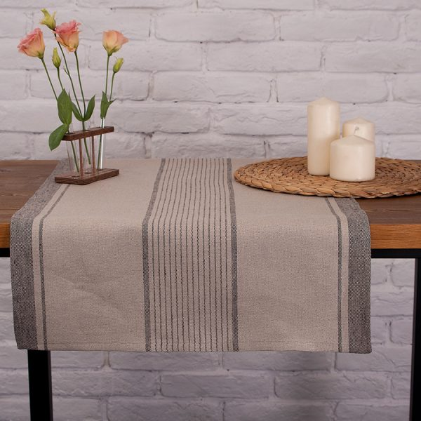 home-of-wool-tablecloth-gray-striped-linen