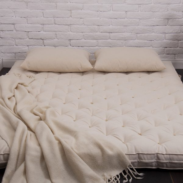 tufted wool filled shikibuton