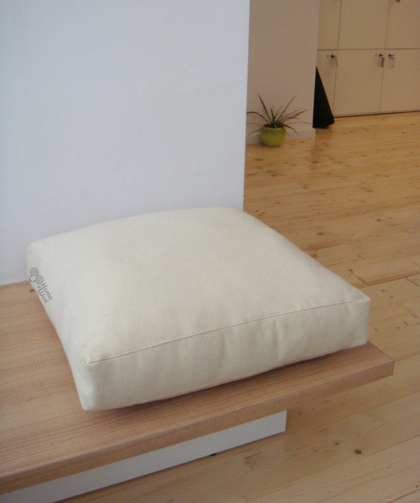 Non Toxic Wool Filled Couch Or Chair Cushion Home Of Wool