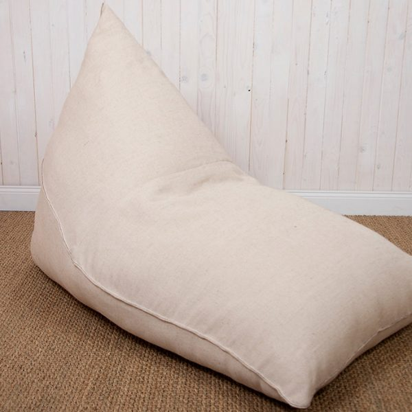 Non Toxic Wool Filled Bean Bag Chair Pouf Home Of Wool