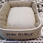 pet dog bed side