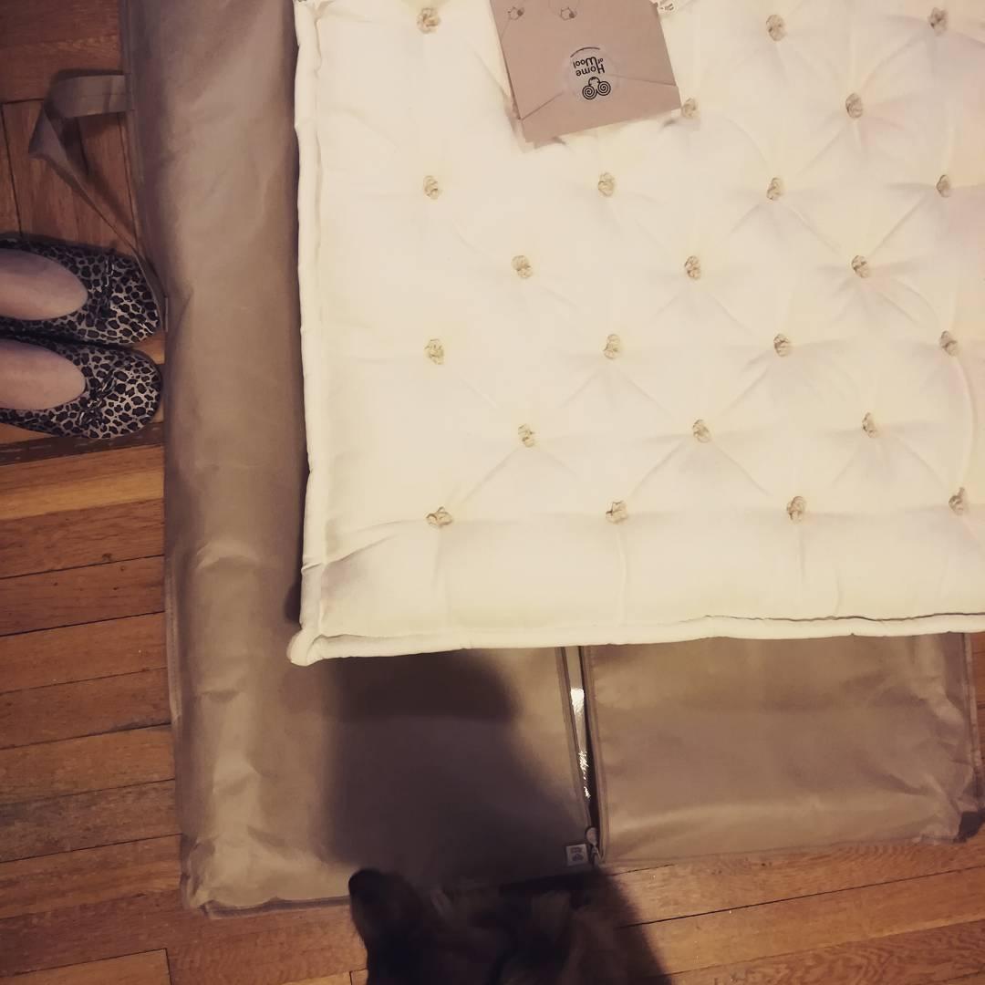 Baby crib wool mattress for Batia Gabrielle