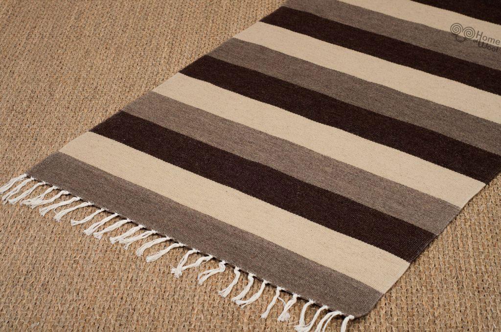 home of wool flatwoven wool rug