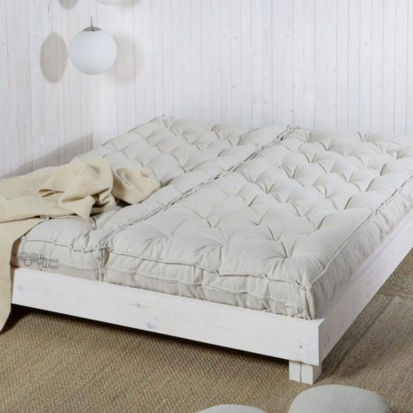 King Size Mattress In Two Pieces