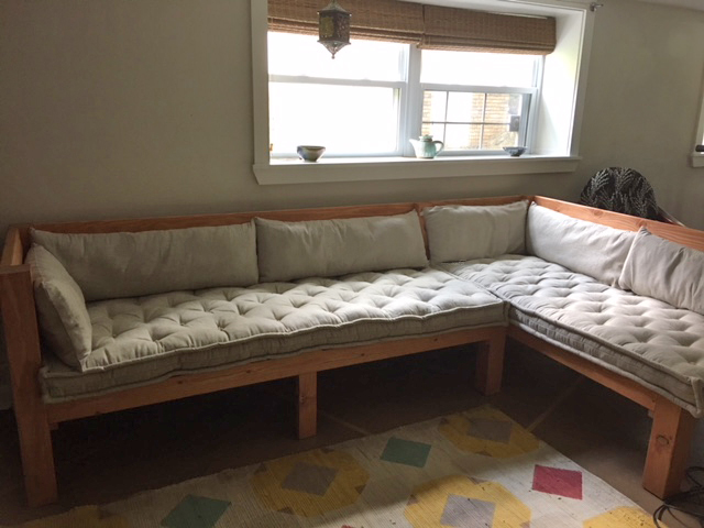 Custom bench cushions review by Afi