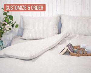 Home of Wool Duvet Cover Natural Non-toxic Twin Full Double Queen King or Custom Size
