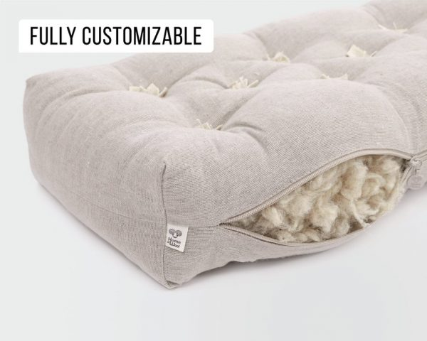 Home of Wool Replacement Couch Cushion Insert