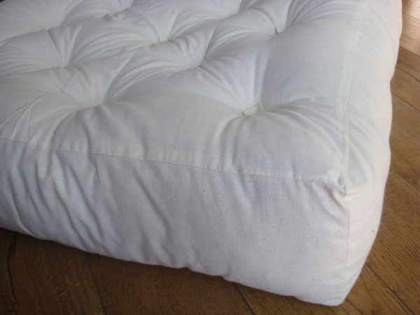 Home of Wool Tufted Wool-Filled Couch Seat Cushion Insert 2