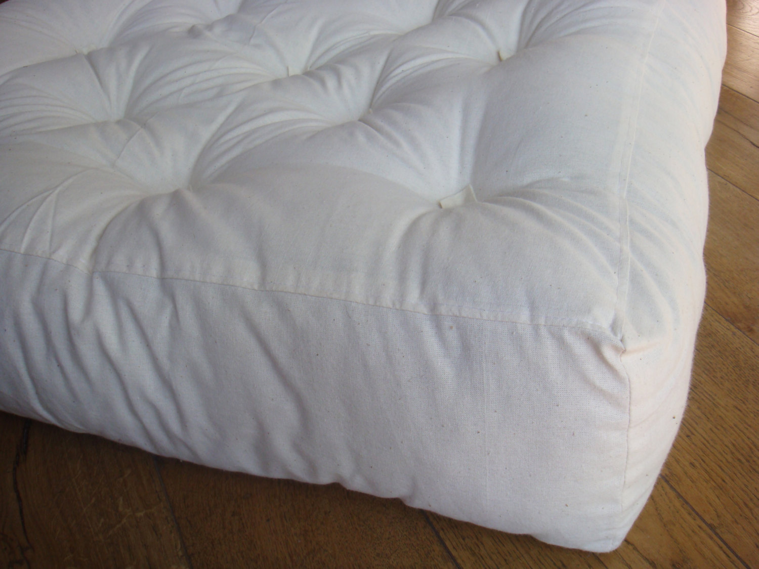 Tufted Wool Replacement Sofa Cushion