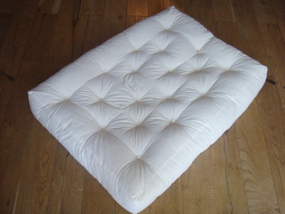 Home of Wool Tufted Wool-Filled Couch Seat Cushion Insert