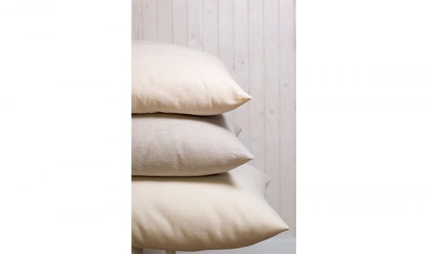 chemical free wool-filled sleeping pillows
