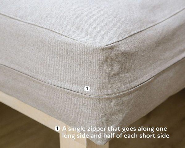 Home of Wool Zip-Off Mattress Cover