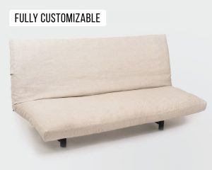 Home of Wool futon mattress with natural wool filling