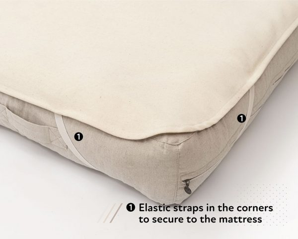 Home of Wool mattress protector with 3-day delivery
