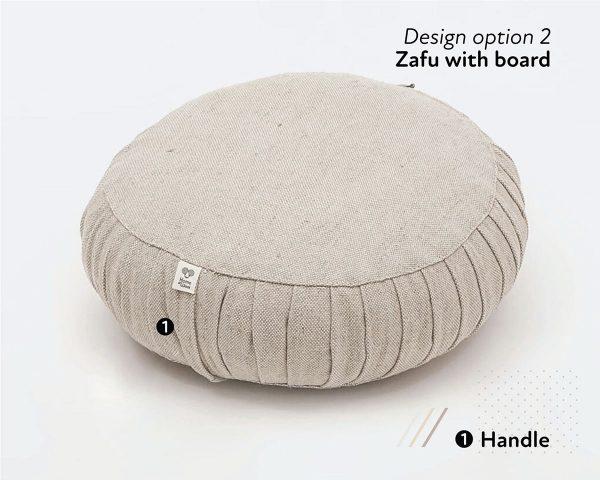 Home of Wool yoga meditation cushions zafu