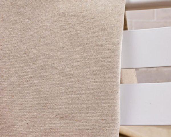 49% Linen 51% Cotton blend fabric