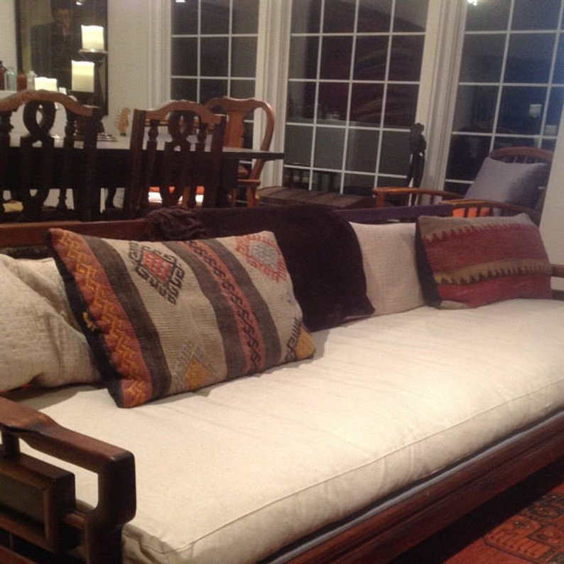 Natural Styled Non-tufted Bench Cushion