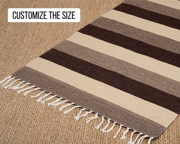 flatweave wool rug