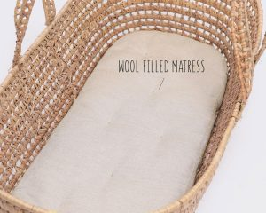 home of wool moses basket wool mattress