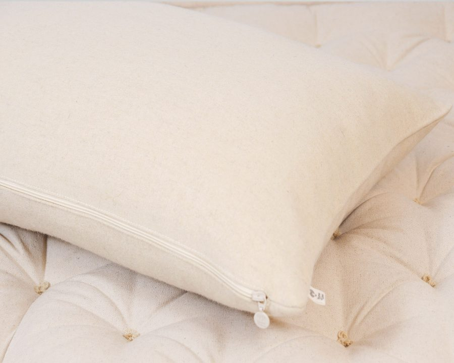 Home of Wool natural wool pillow protector