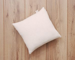 home of wool throw pillow - single