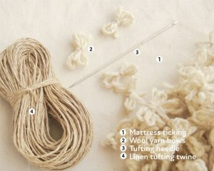 Home of Wool DIY mattress kit