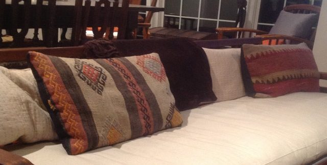 Home of Wool -Flat-Wool-Filled-Bench-Cushion-custom-for-Susan
