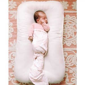 bittersweetcolours and homeofwool collaboration - co-sleeping cushion