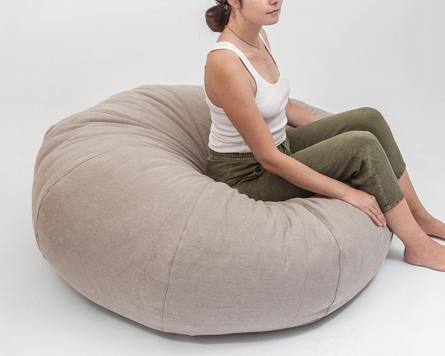 Pleasing Bean Bag Chair Theyellowbook Wood Chair Design Ideas Theyellowbookinfo
