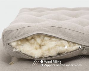 home of wool extendable bed wool stuffing