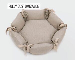 Home of Wool Hecagonal Pet Bed