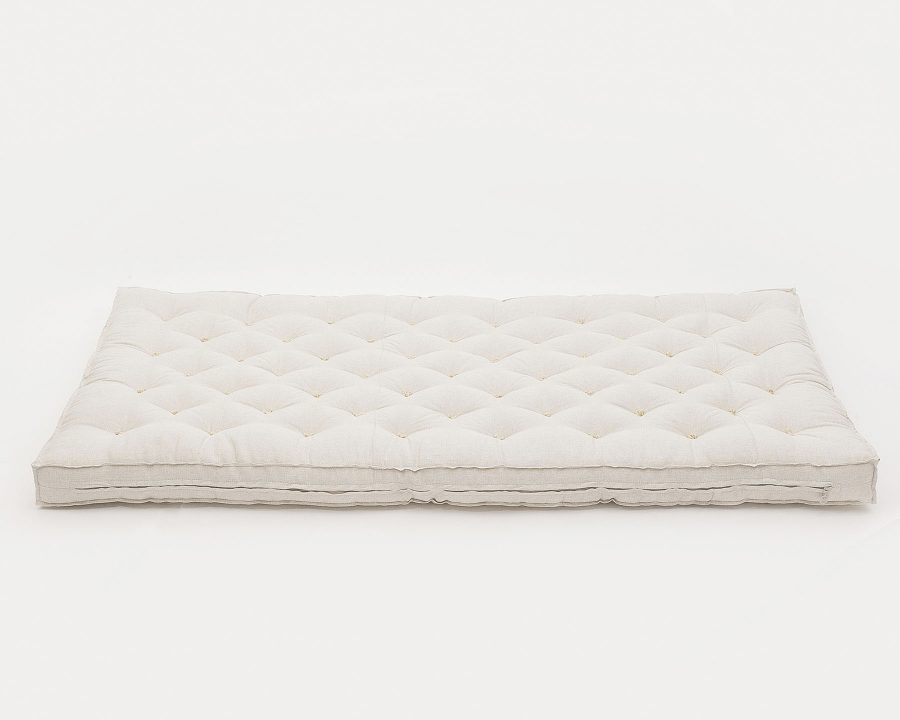 Home of Wool Wool-Filled Crib or Stokke Mattress With Stitched Fabric (2)
