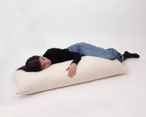 Home of Wool all-natural wool body pillow