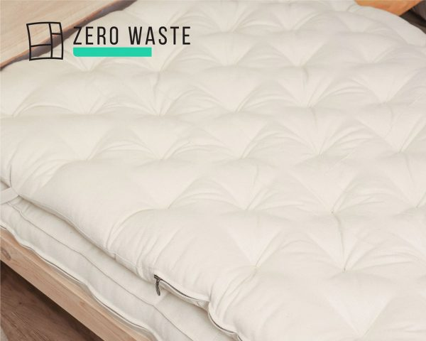 Home of Wool zero waste wool mattress topper