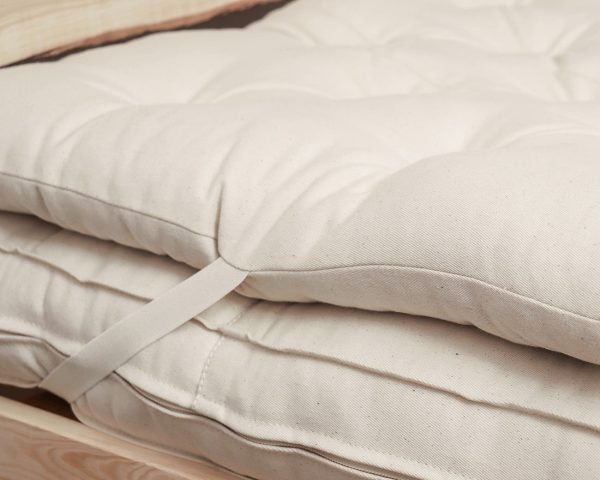 Home of Wool zero waste wool mattress topper-side