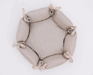 Home of Wool Hexagonal Pet Bed top