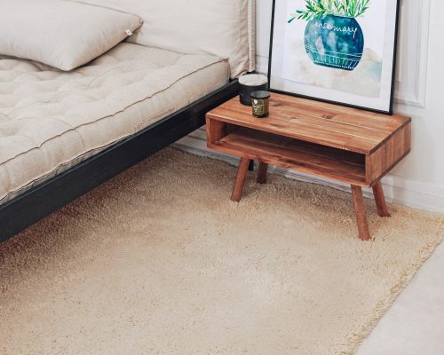 Home of Wool Handmade high pile wool rug - set up 1