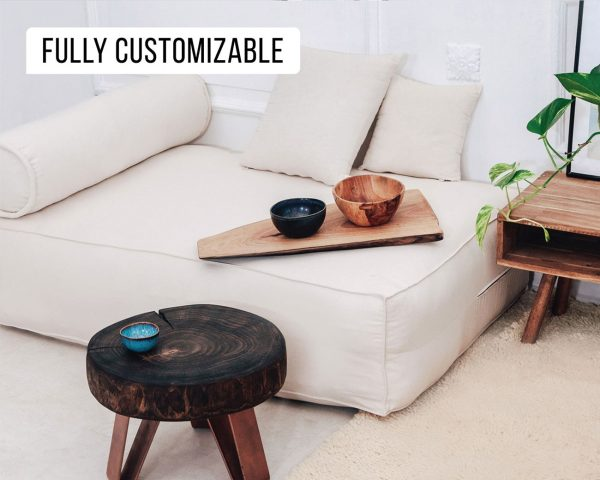 Home of Wool natural pallet couch