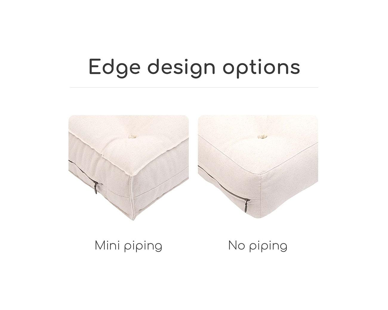 Piped vs Non-piped edges
