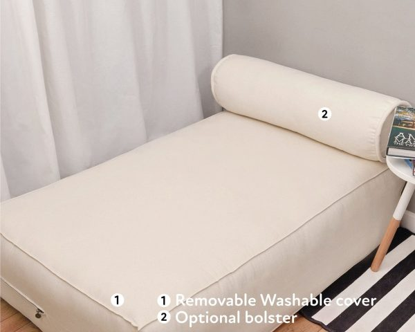 Home of Wool pallet couch cushion