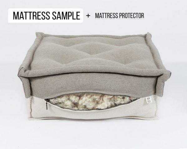 Home of Wool Natural wool mattress sample