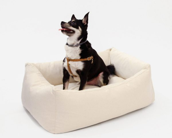 Home of Wool custom-made pet bed (dog bed) XS with natural wool filling