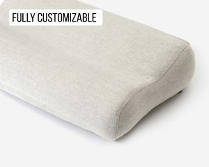 Home of Wool natural pillowcase for ergonomic pillow