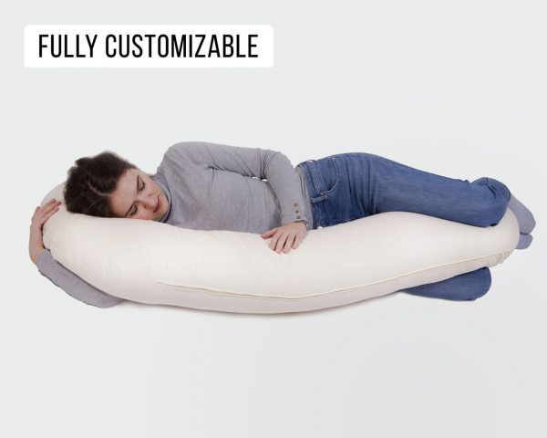 Top 5 Pregnancy & Nursery Bedroom Essentials - c-shaped pregnancy pillow