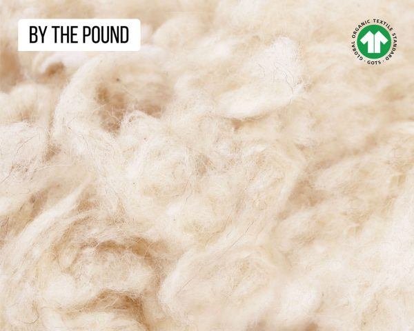 Home of Wool all-natural GOTS certified wool stuffing