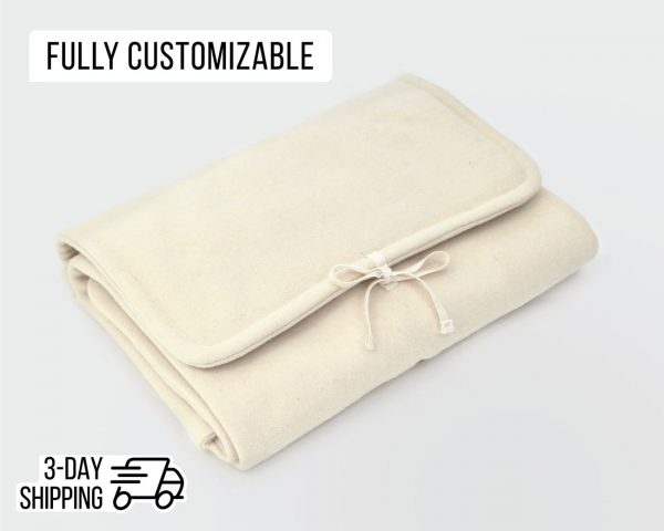 Home of Wool - foldable wool changing mat