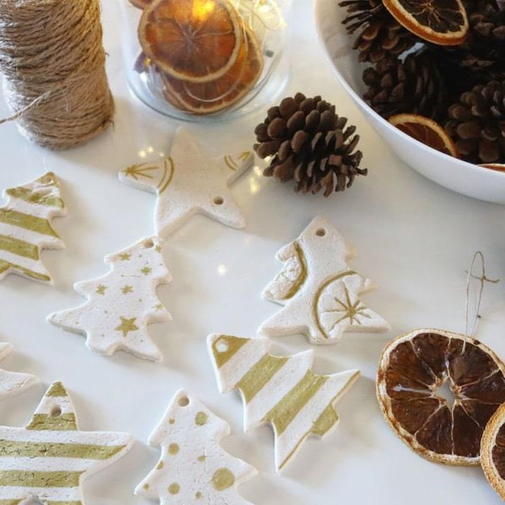 Holidays Go Zero Waste - handmade Christmas tree decoration